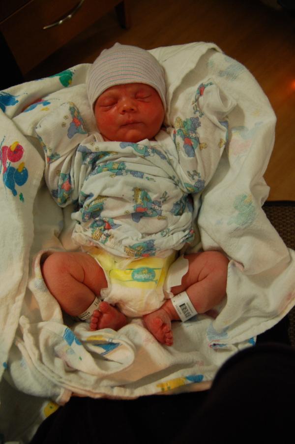 Baby Alex Rogers
